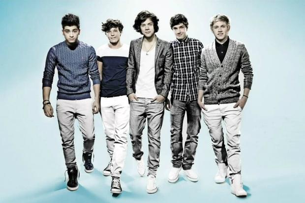 Фото №1 - One Direction зажгли на шоу Saturday Night Live