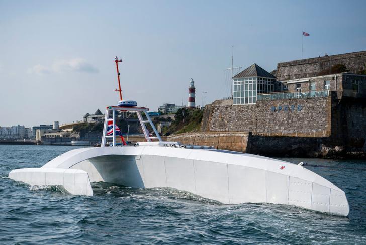 Фото №1 - Корабль-беспилотник не смог повторить историческое путешествие торгового судна «Мэйфлауэр»