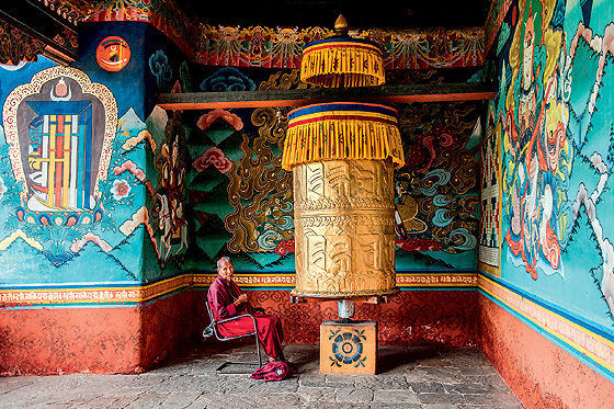 Фото №14 - Свобода под надзором: репортаж из Бутана