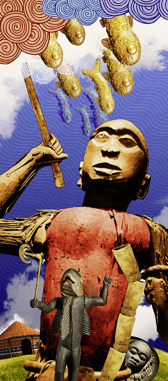 Фото №2 - Мифы народов мира: Мщение небес, дагомейская легенда