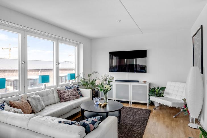Фото №2 - Квартира 84 м² в светлых тонах в Стокгольме