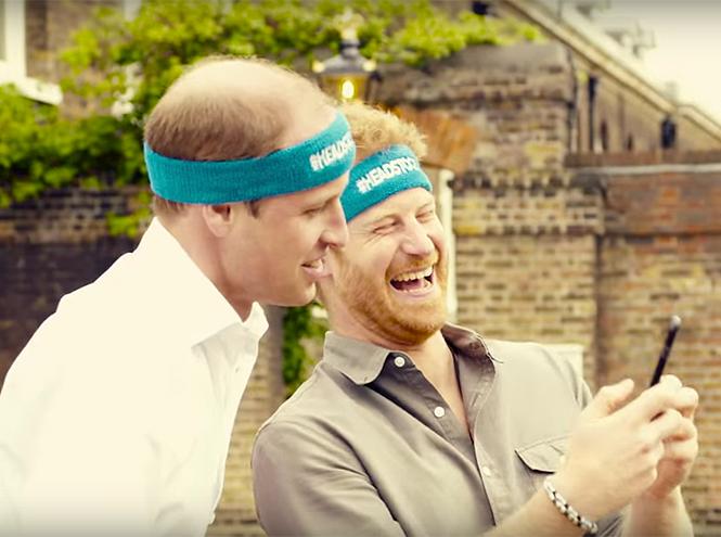 Фото №2 - Новое забавное видео Кейт Миддлтон с принцем Уильямом и принцем Гарри