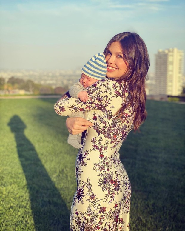 Первое фото ребёнка Даши Жуковой и Ставрос Ниархоса