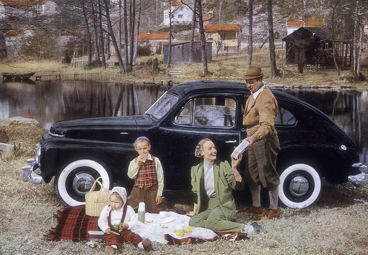 Фото №1 - Философия безопасности: история автомобилей Volvo