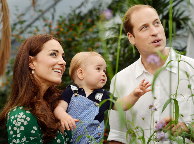 Фото №1 - Сегодня принц Джордж отмечает свой первый день рождения