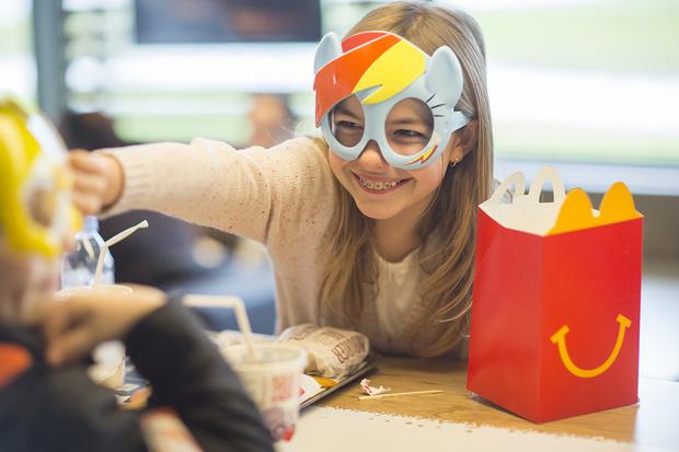 Фото №1 - Как ходить с ребенком в «Макдоналдс»