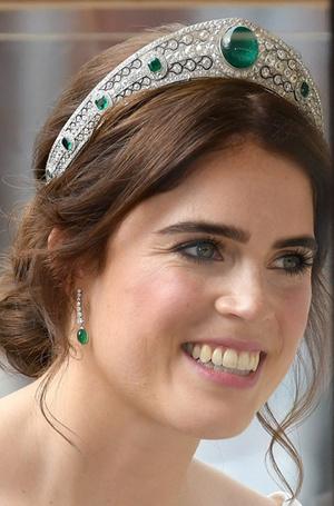 Фото №14 - Настоящая принцесса: свадебный образ Евгении Йоркской