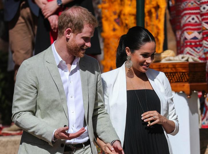 Фото №2 - Герцогиня Меган планирует роды по примеру Королевы