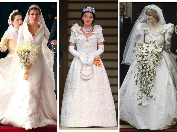 Фото №1 - Невеста на миллион: 7 самых дорогих свадебных платьев королевских особ
