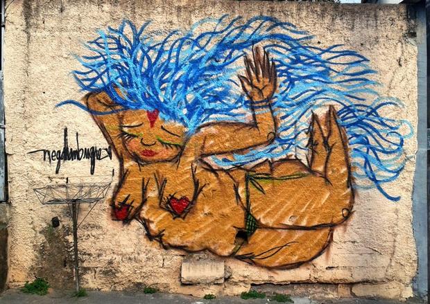 Фото №7 - You go, girl: 7 граффити, созданных женщинами о женщинах
