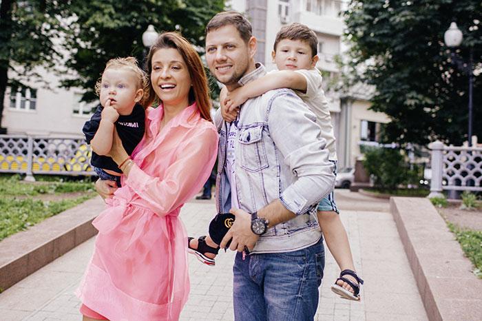 Фото №2 - Инстамама Евгения Кривцова рассказывает о своей семье