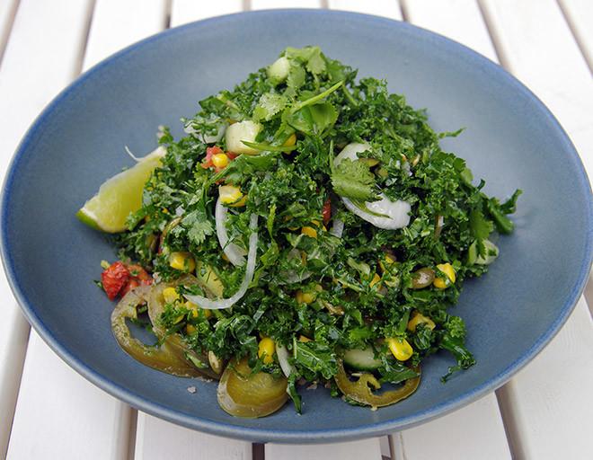 Легкие салаты с зеленью рецепты