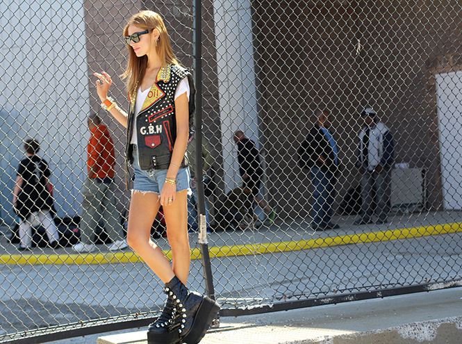 Фото №2 - Неделя моды в Нью-Йорке: streetstyle пятого дня