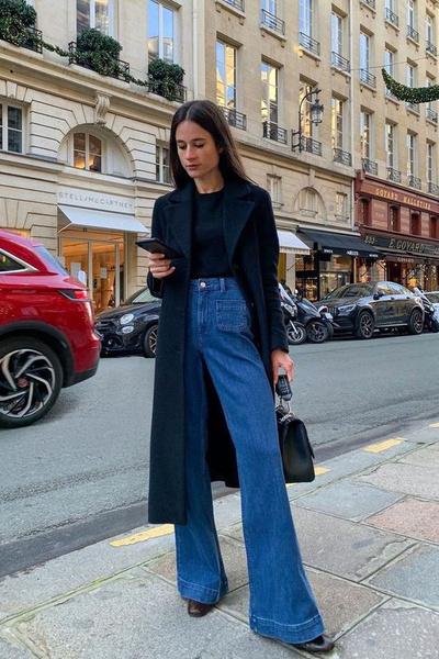 Фото №5 - С чем носить широкие джинсы: 7 стильных образов