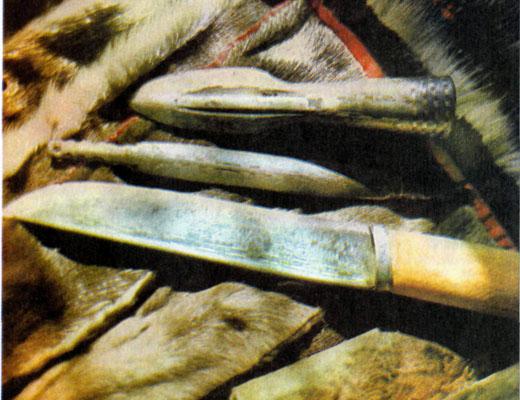 Фото №1 - Узор на лезвии ножа