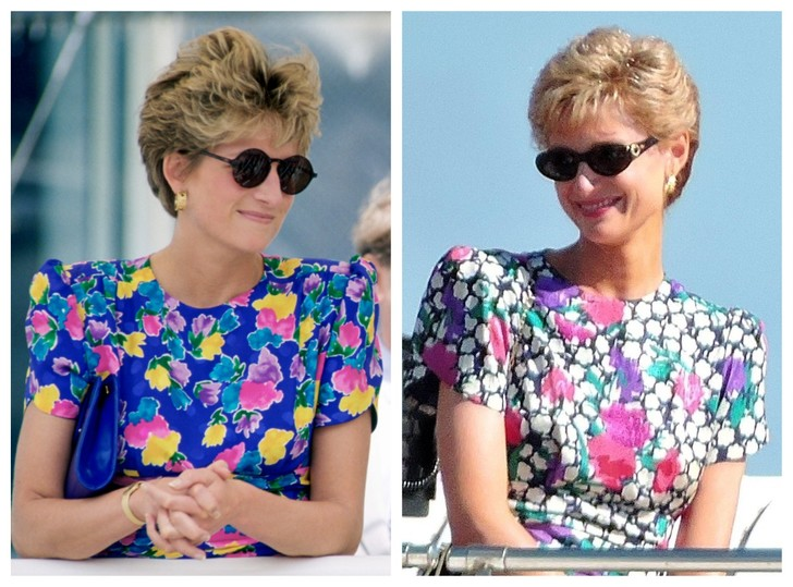 Фото №1 - В Сети появились новые фото со съемок «Короны»: сможете отличить принцессу Диану из сериала от настоящей?