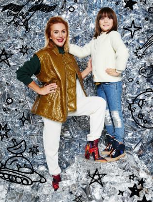 Фото №4 - Звездные мамы и дети в лукбуке H&M Studio Kids