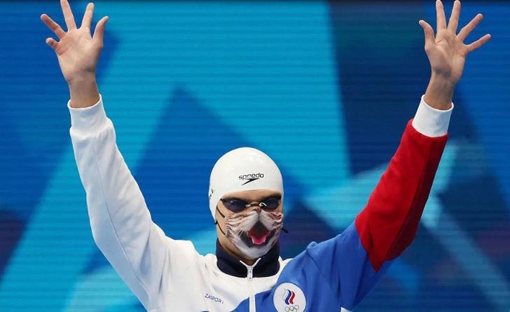 Фото №6 - Никто не скажет мяу: как маска с котом стала мемом Олимпиады и доказала упорство русских