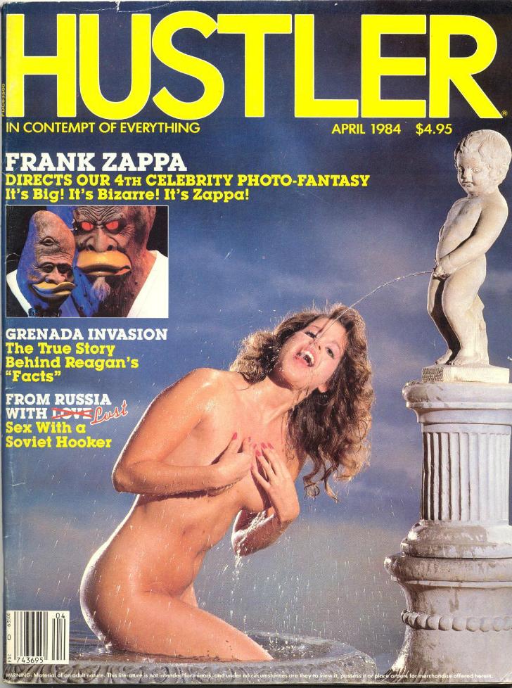 Фото №5 - Умер издатель Hustler Ларри Флинт. Вспоминаем лучшие обложки скандального журнала