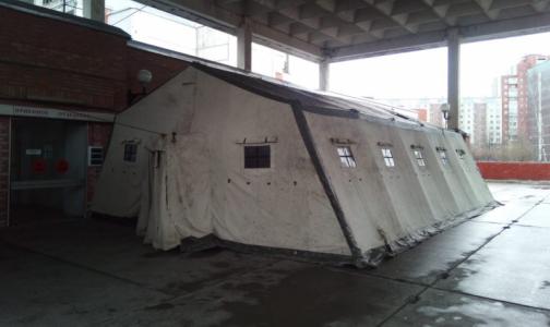 Фото №1 - Вторую больницу и больницу святого Георгия снова перепрофилируют – для пациентов с подозрением на коронавирус
