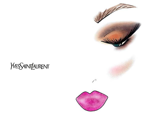 Фото №4 - Праздник зовет: три варианта макияжа по цвету глаз от визажиста YSL