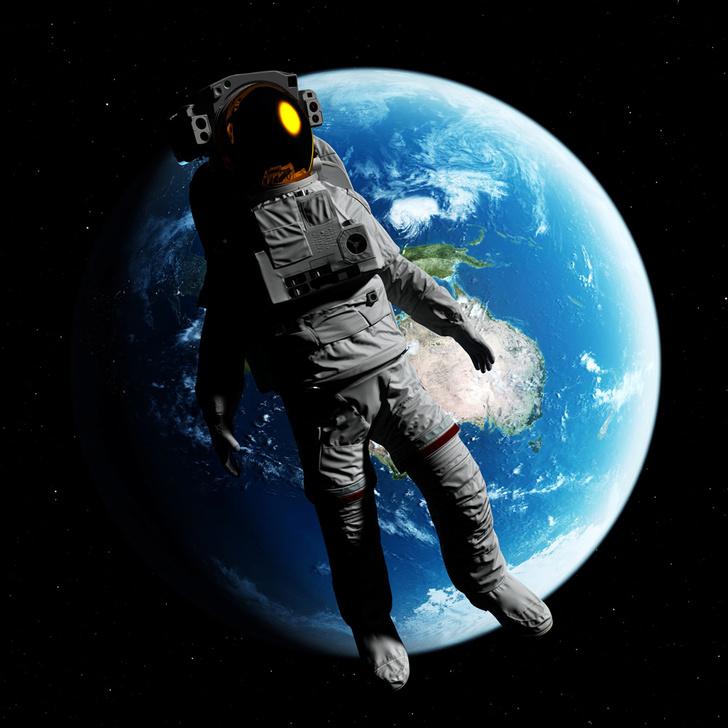 Фото №1 - Что происходит с мозгом человека в космосе?