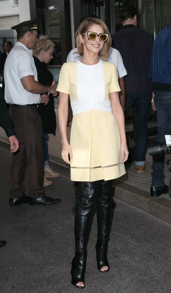 Фото №7 - За гранью: худшие наряды гостей Каннского кинофестиваля прошлых лет