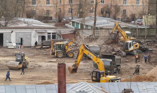 Фото №1 - В Пушкине строят инфекционный центр для заболевших коронавирусом