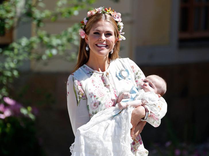 Фото №1 - Как проходило крещение шведской принцессы Адриенны