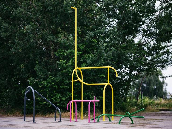 Фото №2 - Инсталляция на детской площадке в Амстердаме