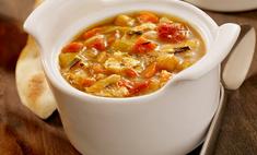 Имбирный суп с фрикадельками