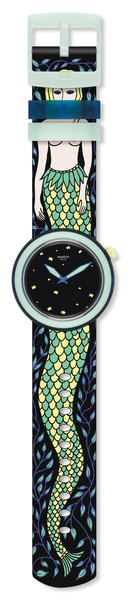 Фото №1 - Swatch и Бриана Фитц-Джеймс Стюарт выпустили модель Melusine