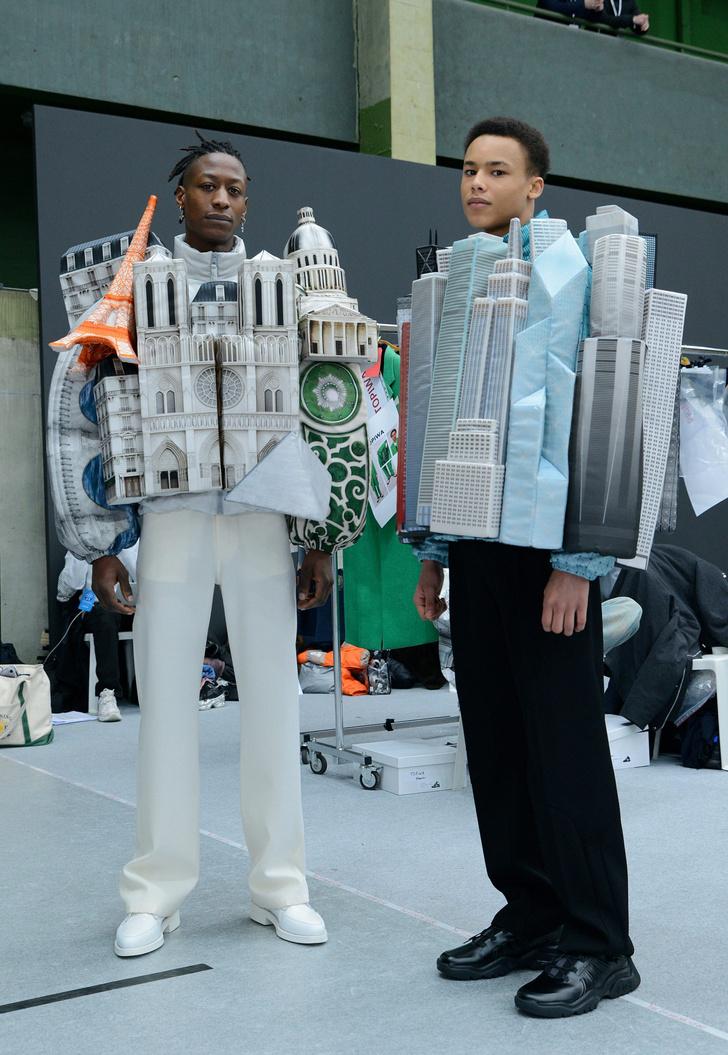 Фото №5 - Небоскребы Парижа и Нотр-Дам в новой коллекции Louis Vuitton Men 2021 Вирджила Абло
