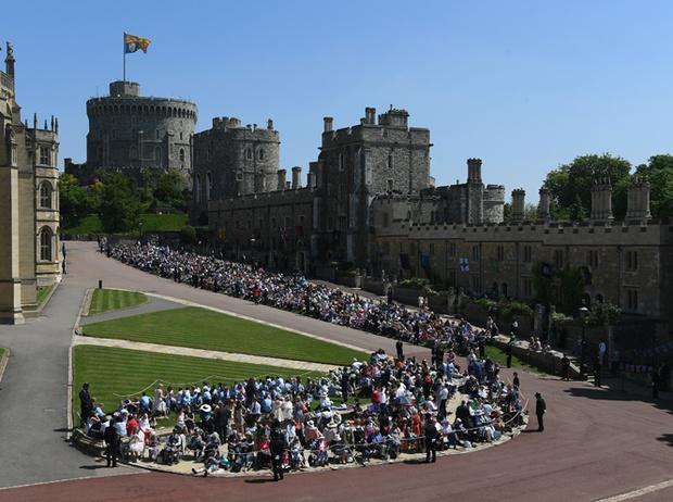 Фото №2 - Свадьба Меган Маркл и принца Гарри: как это было (видео, фото, комментарии)