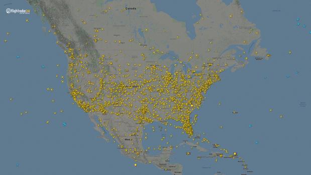Фото №11 - Как изменился авиатрафик в разных регионах мира во время пандемии