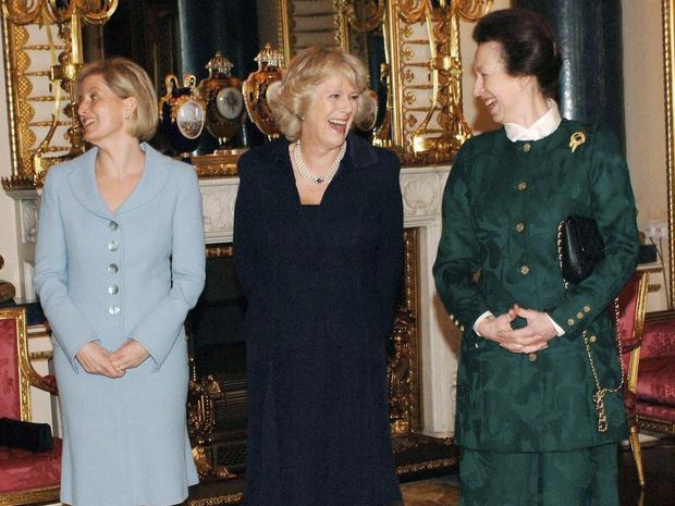 Фото №1 - Почему принцесса Анна не подружилась ни с одной из жен своих братьев, кроме Камиллы
