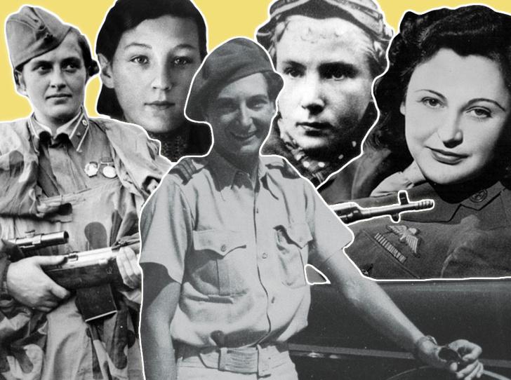 Фото №1 - Защитники в юбках: истории женщин, совершивших подвиги на Второй мировой войне