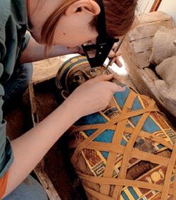 Фото №4 - Золото фаюмских мумий