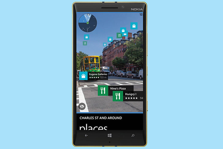 HERE Maps приложение