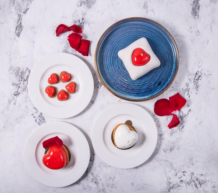 Десерты ко Дню влюбленных, придуманные шеф-поваром ресторана Drinks@Dinners