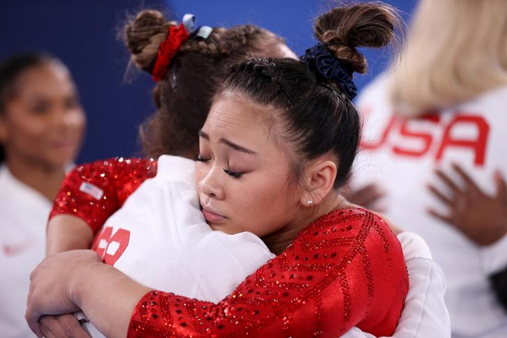 Фото №6 - Токио-2020: самые красивые прически гимнасток на Олимпиаде