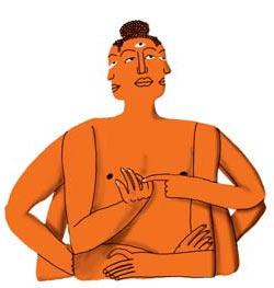 Фото №1 - Почему у индийских богов много рук?
