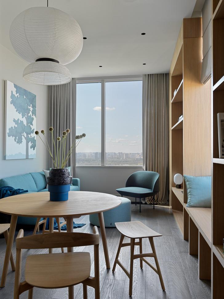 Фото №2 - Витает в облаках: квартира на 26 этаже в Москве