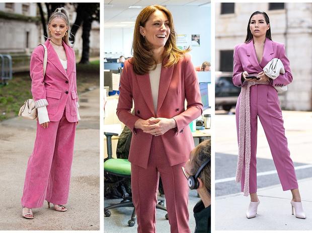 12 стильных костюмов на весну, как у герцогини Кейт | Marie Claire