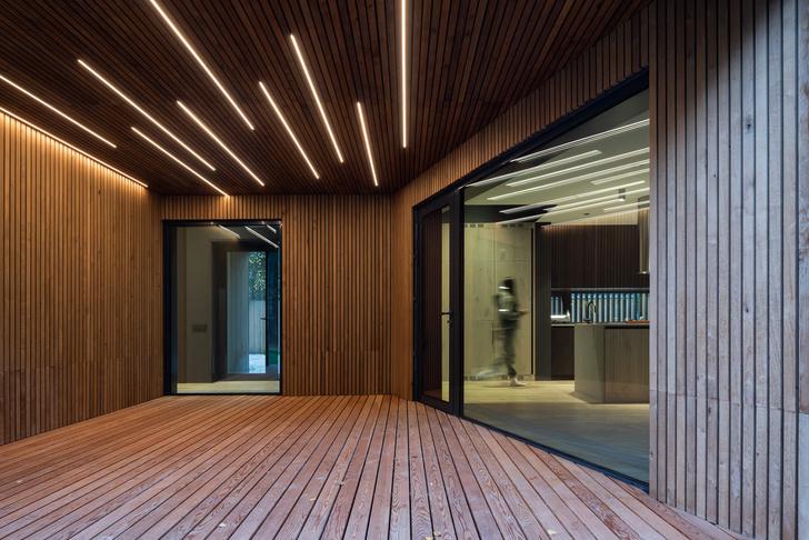 Фото №2 - Современная архитектура: деревянный дом 134 м² в Сибири