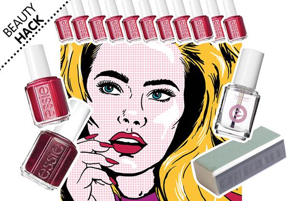 Фото №1 - Beauty Hack: Что делать, если маникюр скололся на кончиках ногтей