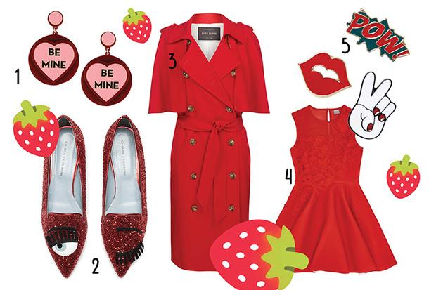Фото №1 - Топ-10: Красные вещи ко Дню всех влюбленных