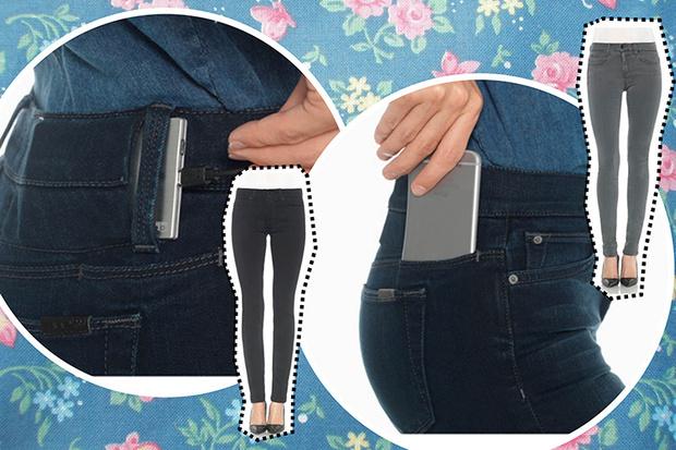 Фото №1 - WOW! Появились джинсы, которые могут зарядить твой телефон