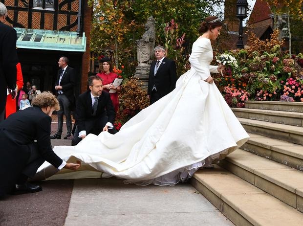 Фото №3 - Настоящая принцесса: свадебный образ Евгении Йоркской