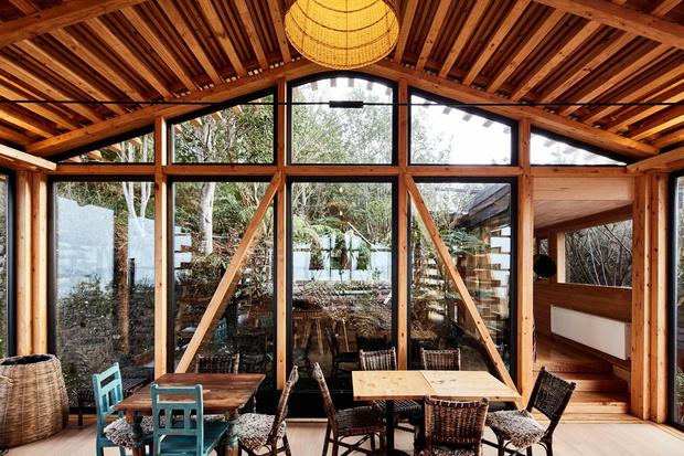 Фото №8 - Красный дом для барбекю в Чили